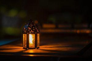 Windlicht mit schönen Lichteffekten