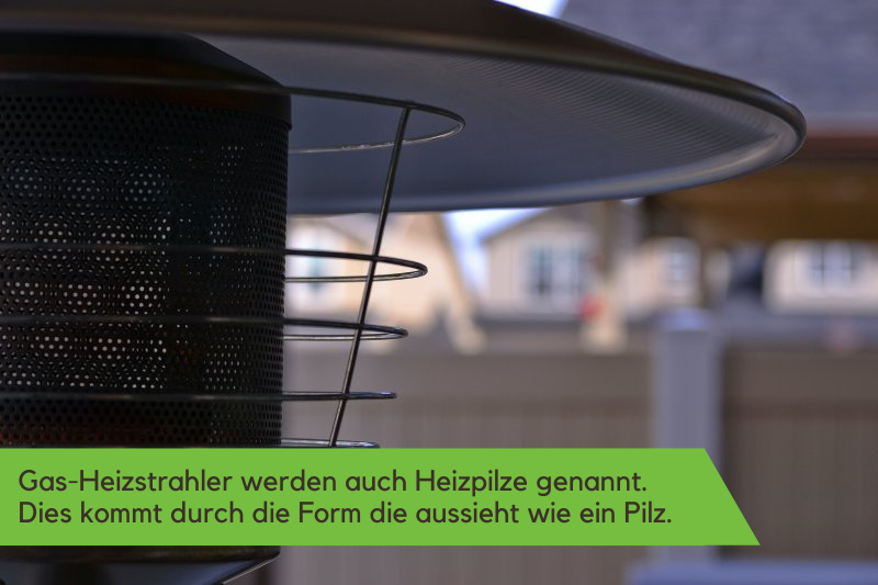 Gas-Heizstrahler