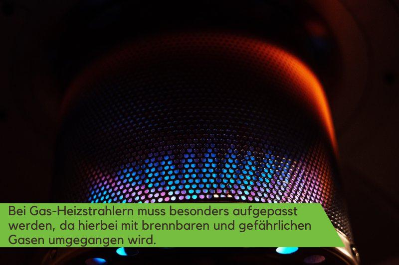 Gas Heizstrahler